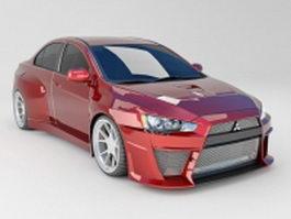 Mitsubishi Lancer Evolution 3d model