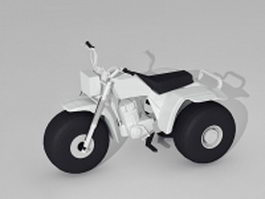 ATV Three Wheeler 3d model