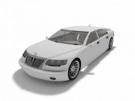Brilliance car 3d model