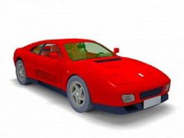 Ferrari 458 sports car 3d model