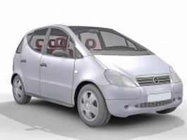 Classic Mercedes-Benz A140 3d model