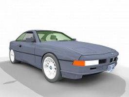 BMW 850i 3d model