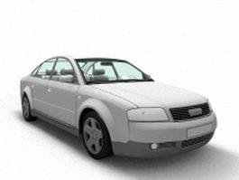 Audi A6 sedan 3d model