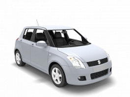 Suzuki Swift hatchback 3d model