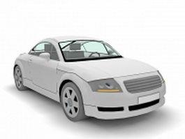 Audi Coupe 3d model