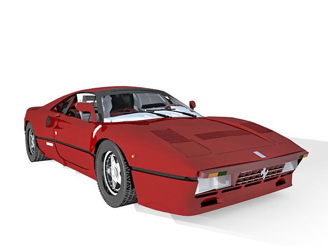 Ford Mustang SportsRoof 3d rendering