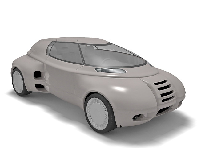 Futuristic car 3d model 3ds Max,Autodesk FBX files free download