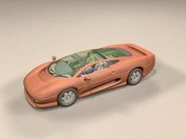 Jaguar XJ220 3d model