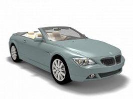 BMW E64 Convertible 3d model