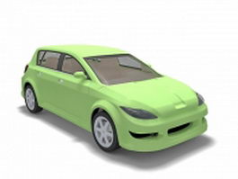 Golf class car 3d model