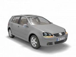 Volkswagen Golf Mk5 3d model
