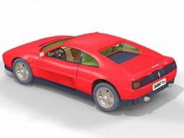Ferrari F348 Spider 3d model