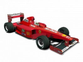 Ferrari Formula One car 3d preview
