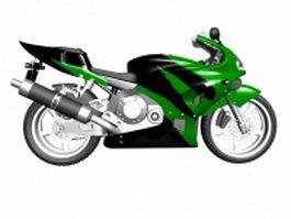 Honda sport bike 3d model