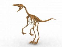 Dinosaur skeleton 3d model