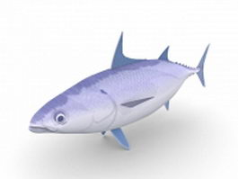 Longtail tuna 3d model