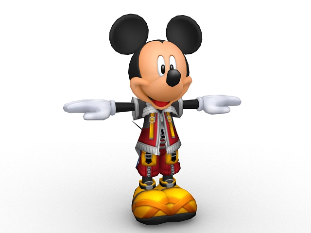 Mickey Mouse 3d Model 3ds Max Files Free Download