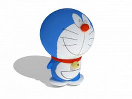 Doraemon robotic cat 3d model