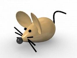 Cartoon mice 3d model