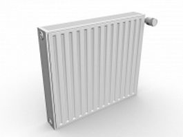 Heating convectors radiator 3d model