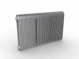 Convection radiators 3d model