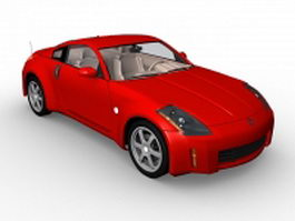 Nissan 350Z coupe 3d model