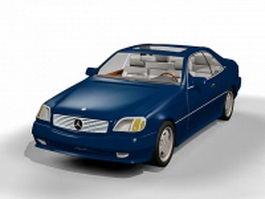 Mercedes-Benz 600 3d model