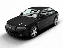 Audi A4 car 3d model