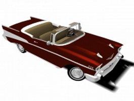 Chevrolet classic convertible 3d model