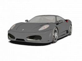 Ferrari F430 sports car 3d model