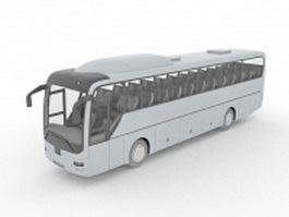 Guided bus 3d model