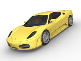 Ferrari F430 supercar 3d model