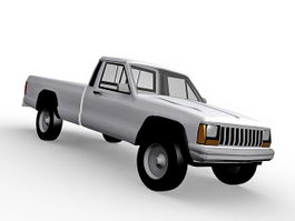 Jeep Pickup Truck 3d model