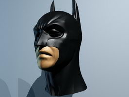 Batman head 3d model