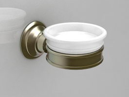 Wall mounted soap dish 3d model