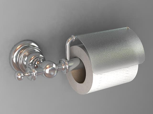 Toilet paper holder 3d model - CadNav