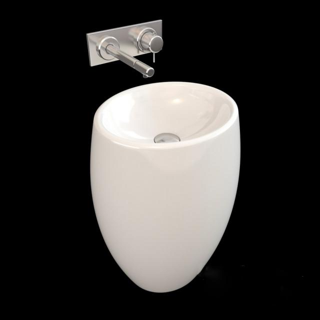 Modern Bathroom Pedestal Sink 3d Model 3ds Max Files Free