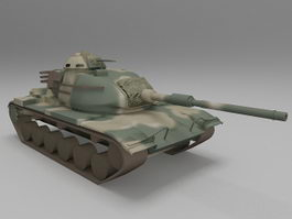M60 Patton Tank 3d model