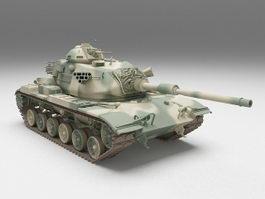 American Tank M60 Patton 3d model