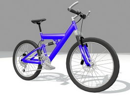 BMX bike sport bicycle 3d model