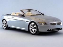 BMW 6 Convertible 3d model