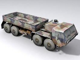 HEMTT Military truck 3d model
