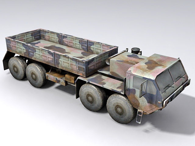 Hemtt Military Truck 3d Model 3ds Max Files Free Download