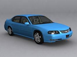 2003 Chevrolet Impala LS 3d model
