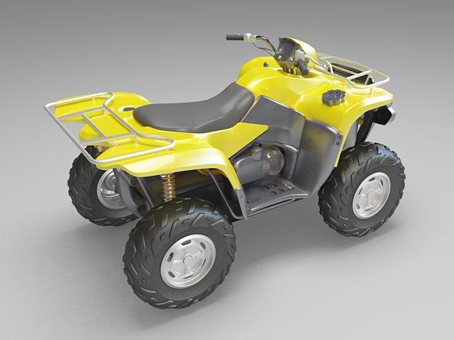 Quad bike 3d model free download - cadnav com