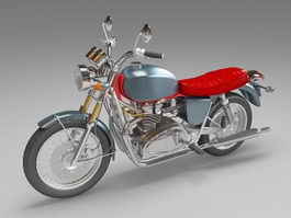 Sport touring Motorcycle 3d model