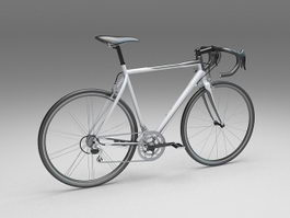 Sport touring bicycle 3d model