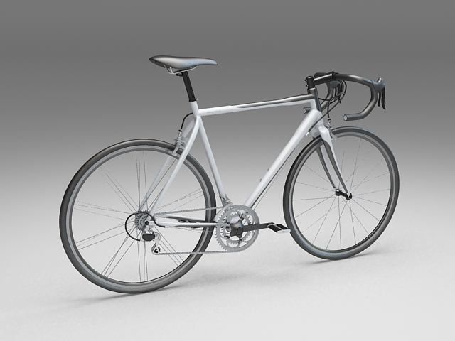 sport touring bicycle 3d model 3ds max files free download