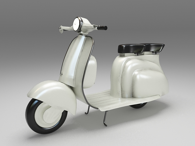3dSkyHost: Motor scooter 3D Model
