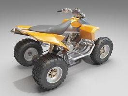 Automatic sport ATV 3d model